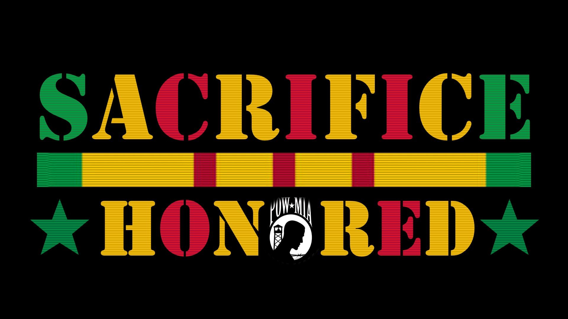 Sacrifice Honored Black
